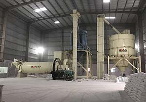 Successful soda feldspar powder grinding plant in Gujarat of India