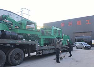 Ways of transportation of the mobile stone crusher plant