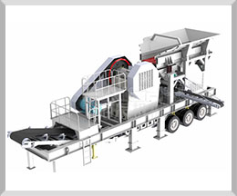 Mobile Concrete Crushing Plant